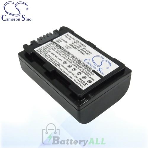 CS Battery for Sony DCR-SR220 / DCR-SR220D / DCR-SR290E Battery 650mah CA-FH50D