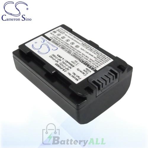 CS Battery for Sony DCR-SR300 / DCR-SR300C / DCR-SR300E Battery 650mah CA-FH50D