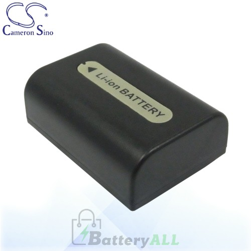 CS Battery for Sony DR-SR10D / HDR-CX6 / HDR-CX6EK / HDR-CX7 Battery 650mah CA-FH50D