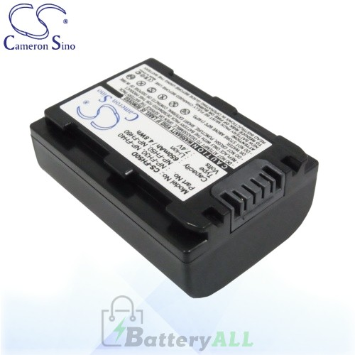 CS Battery for Sony HDR-SR12/E / HDR-SR12E / DSC-HX100V Battery 650mah CA-FH50D