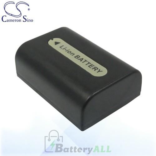 CS Battery for Sony HDR-TG1/E / HDR-UX3E / HDR-UX5 / HDR-UX5E Battery 650mah CA-FH50D