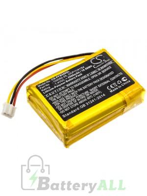 CameronSino Battery for Philips Soundbar Battery 104050-2S CS-PFB500SL