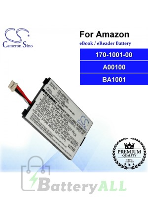 CS-ABD001SL For Amazon Ebook Battery Model 170-1001-00 / A00100 / BA1001