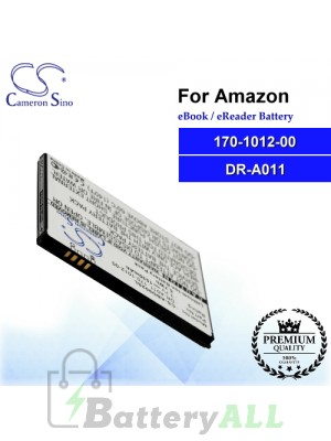 CS-ABD002SL For Amazon Ebook Battery Model 170-1012-00 / DR-A011