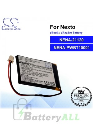CS-NX2725SL For Nexto Ebook Battery Model NENA-21120 / NENA-PWBT10001