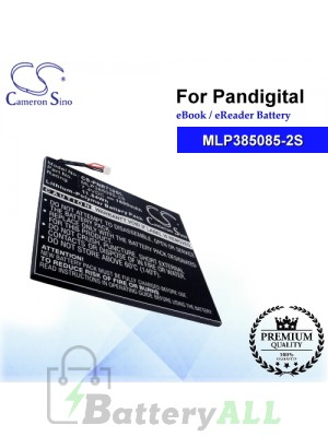 CS-PNR710SL For Pandigital Ebook Battery Model MLP385085-2S