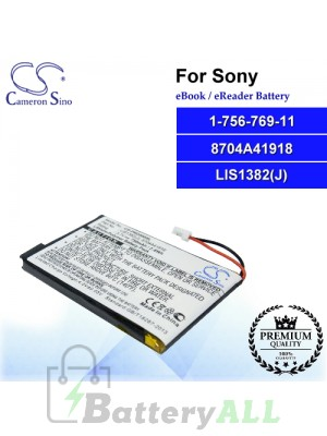 CS-PRD500SL For Sony Ebook Battery Model 1-756-769-11 / 8704A41918 / LIS1382(J)