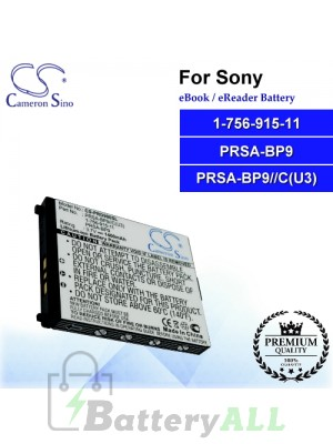 CS-PRD900SL For Sony Ebook Battery Model 1-756-915-11 / PRSA-BP9 / PRSA-BP9//C(U3)