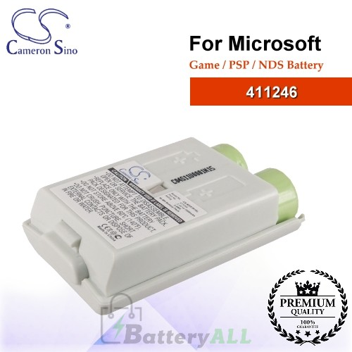 CS-MSX361SL For Microsoft Game PSP NDS Battery Model 411246
