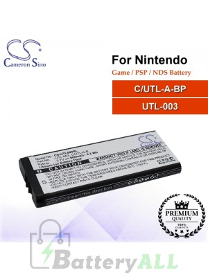 CS-UTL003SL For Nintendo Game PSP NDS Battery Model C/UTL-A-BP / UTL-003