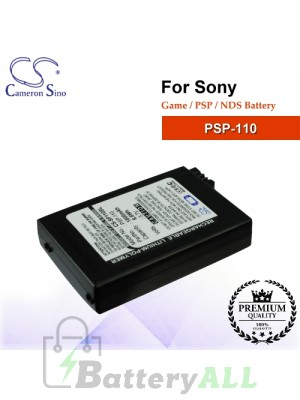 CS-SP110SL For Sony Game PSP NDS Battery Model PSP-110