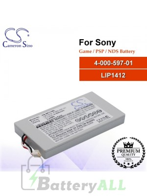 CS-SP113SL For Sony Game PSP NDS Battery Model 4-000-597-01 / LIP1412
