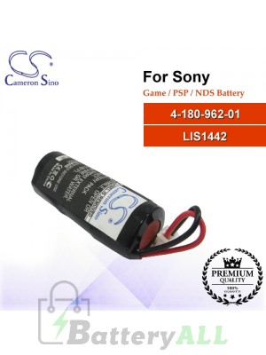CS-SP116SL For Sony Game PSP NDS Battery Model 4-180-962-01 / LIS1442