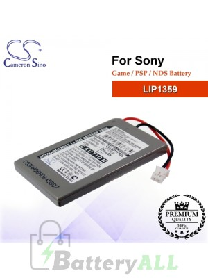 CS-SP117SL For Sony Game PSP NDS Battery Model LIP1359