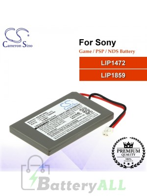 CS-SP130SL For Sony Game PSP NDS Battery Model LIP1472 / LIP1859