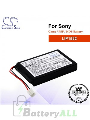 CS-SP152SL For Sony Game PSP NDS Battery Model LIP1522