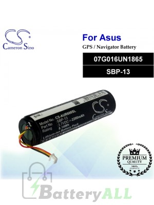 CS-AUR600SL For Asus GPS Battery Model 07G016UN1865 / SBP-13