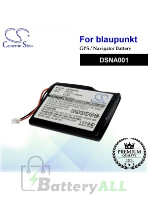 CS-BNG01SL For Blaupunkt GPS Battery Model DSNA001