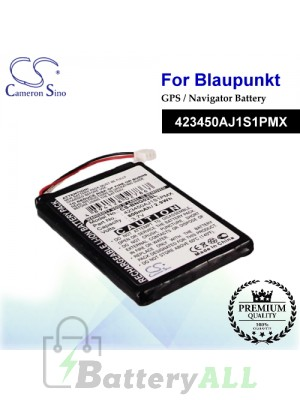 CS-BNG02SL For Blaupunkt GPS Battery Model 423450AJ1S1PMX