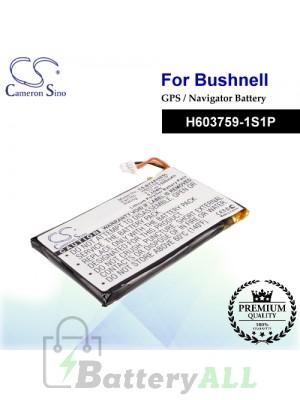 CS-BYX8350SL For Bushnell GPS Battery Model H603759-1S1P