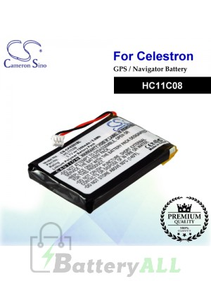 CS-CPR001SL For Celestron GPS Battery Model HC11C08