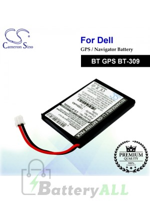 CS-BT300SL For Dell GPS Battery Fit Model BT GPS BT-309