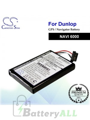 CS-MIOP350SL For Dunlop GPS Battery Fit Model NAVI 6000