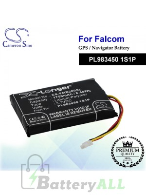 CS-FMB200SL For Falcom GPS Battery Model PL983450 1S1P