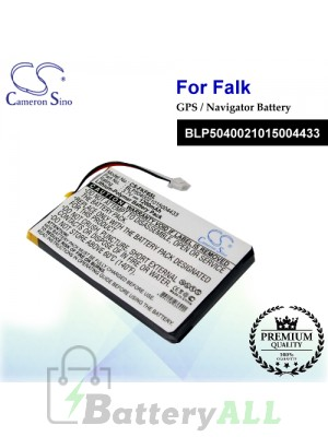 CS-FKF6SL For Falk GPS Battery Model BLP5040021015004433
