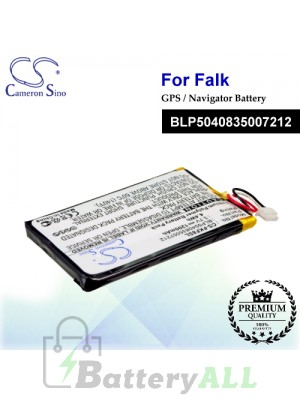 CS-FKF8SL For Falk GPS Battery Model BLP5040835007212