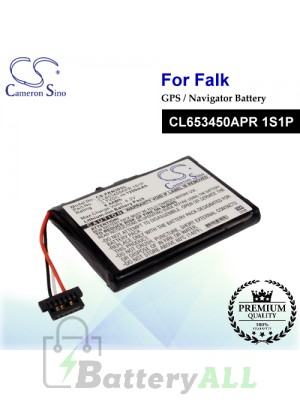 CS-FKN30SL For Falk GPS Battery Model CL653450APR 1S1P