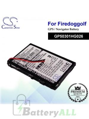 CS-ME500SL For FireDogGolf GPS Battery Model GP50301HG026
