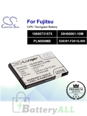 CS-FN100SL For Fujitsu GPS Battery Model 10600731575 / 35H00061-10M / PLN000MB / S26391-F2613L900