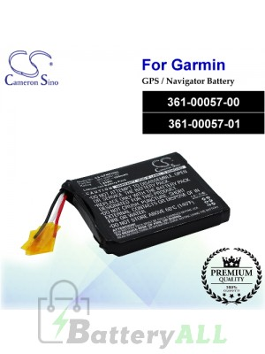 CS-GFN910SL For Garmin GPS Battery Model 361-00057-00 / 361-00057-01