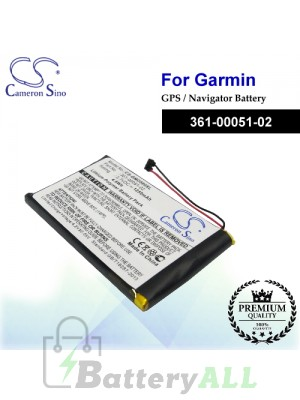 CS-GMD560SL For Garmin GPS Battery Model 361-00051-02