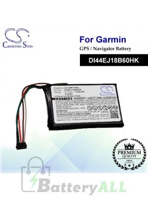 CS-GME100SL For Garmin GPS Battery Model DI44EJ18B60HK