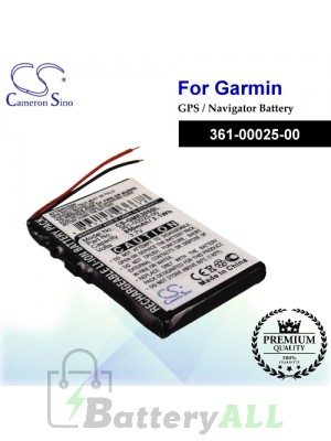 CS-GME305SL For Garmin GPS Battery Model 361-00025-00