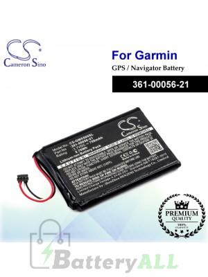 CS-GMX500SL For Garmin GPS Battery Model 361-00056-21