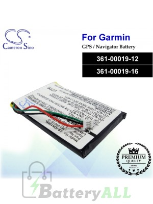 CS-IQN130SL For Garmin GPS Battery Model 361-00019-12 / 361-00019-16
