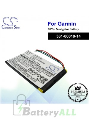 CS-IQN160SL For Garmin GPS Battery Model 361-00019-14