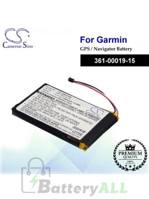 CS-IQN234SL For Garmin GPS Battery Model 361-00019-15