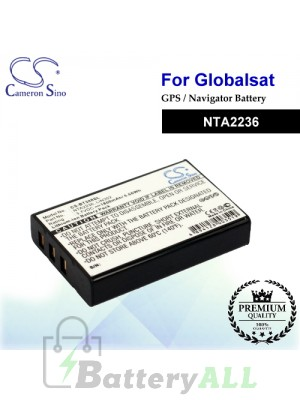 CS-BT388SL For Globalsat GPS Battery Model NTA2236
