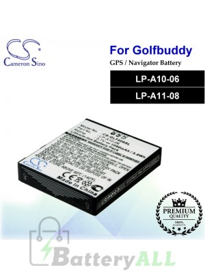 CS-GLF006SL For Golf Buddy GPS Battery Model LP-A10-06 / LP-A11-08