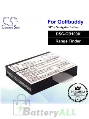 CS-ME600SL For Golf Buddy GPS Battery Fit Model DSC-GB100K / Range Finder