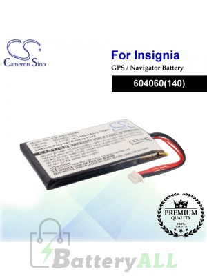 CS-NSV200SL For Insignia GPS Battery Fit Model NS-NCV20