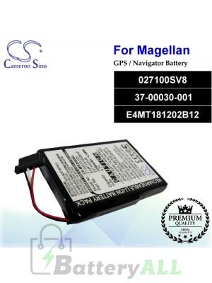 CS-MR2000SL For Magellan GPS Battery Model 027100SV8 / 37-00030-001 / E4MT181202B12