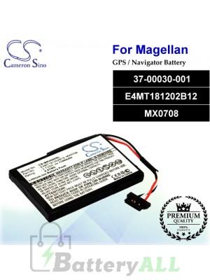 CS-MR4000SL For Magellan GPS Battery Model 37-00030-001 / E4MT181202B12 / MX0708