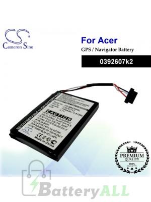 CS-MR4700SL For Magellan GPS Battery Model 0392607k2
