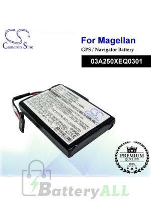 CS-MR5045SL For Magellan GPS Battery Model 03A250XEQ0301