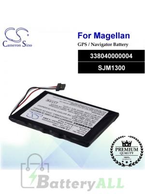 CS-MR5175SL For Magellan GPS Battery Model 338040000004 / SJM1300